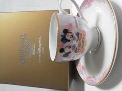 TDS東京ディズニーシー2011クリスマス新品デミタスカップ&ソーサー
