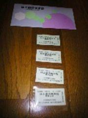 小田急電鉄株主優待乗車券4枚(29.5.31迄)