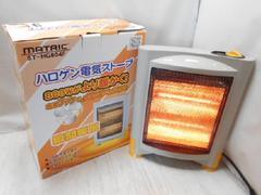 6913☆1スタ☆MATRIC ハロゲン電気ストーブ ST-HG804F
