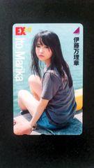 最新乃木坂46伊藤万理華テレカ
