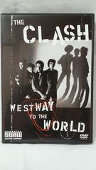 美品DVD!ザ・クラッシュ/ウエストウェイ・トゥ・ザ・ワールド/ライナーあり