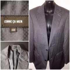 コムサメン定価4万円程テーラードスーツジャケット細身ビジネス