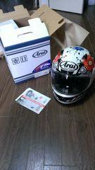 送料込みアライaraiヘルメット クアンタムJ Blossam M57-58美品