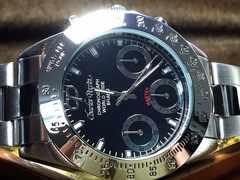限定販売!新品シャルルペリン正規品クロノグラフ腕時計