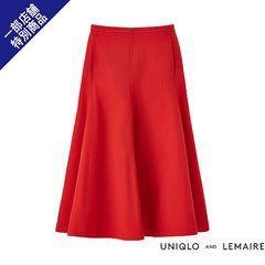 ユニクロ ルメール スカート 赤 完売品