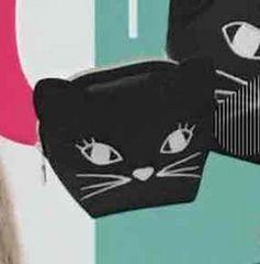 定形外込。ローリーズファームコラボ・黒猫型ポーチ。小サイズ。