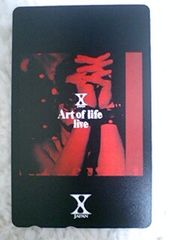 新品未使用 X JAPAN テレカ hide YOSHIKI Art of life