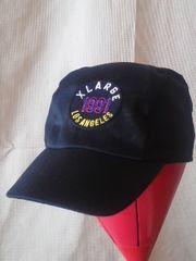 エクストララージ:ロゴワッペン綿混ポリエステル黒CAP:F未使用
