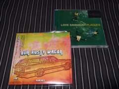 PLAGUES『LOVE~』廃盤+『OUR RUSTY WAGON』美品2枚(mellowhead)