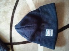 Edwin ニット帽 ネイビー