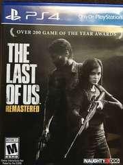 PS4 ラストオブアス リマスター 北米版 The Last of Us