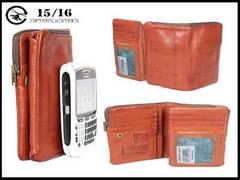 新品 フィフティンシクスティン1516 箱付き 皮 スナップ式財布-7