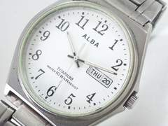 8903/SEIKOセイコー★人気のアルバシリーズ軽量フルチタン素材のメンズ腕時計