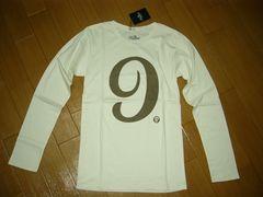 新品ダーベストDarvestカットソーS白ロンTシャツ9ロゴ半額以下