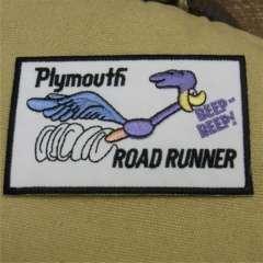 レーシング ワッペン ロード ランナー Plymouth