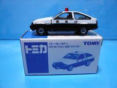 イトーヨーカドーカローラレビンAE86 APEXパトカー