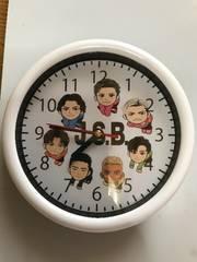 三代目JSBキャラ掛け時計