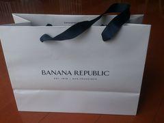 バナリパ BANANA REPUBLIC ショップ紙袋