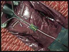 M・ファー付・和柄ちりめん使いジャケット新品/MC03P‐701