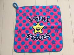 X-GIRL STAGES☆エックスガール☆タオル