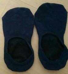 整理品♪靴下♪紺色ネイビー♪