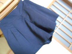 100スタ*レイカズン薄手黒ショートパンツ*クリックポスト164円