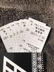 京阪ホールディングス株主優待券乗車券7枚