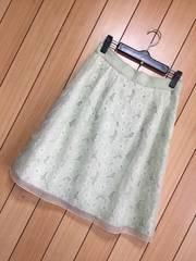 新品ストロベリーフィールズ★総レース×チュールスカート