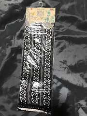 モバオクで買える「黒総レースハイソックス★黒送料220円」の画像です。価格は40円になります。