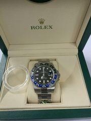 Rolex GMTマスター2 116710BLNR 青黒ベゼル 新品 ノベルティ