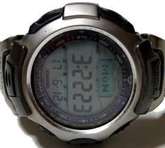 良品 1スタ★CASIO プロトレック【タフソーラー】腕時計
