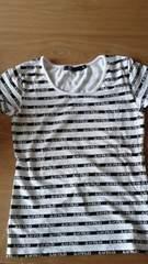 ピンダイ新品同様半袖Tシャツ38ストライプ