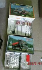 日野、三菱ダンプ2台セット