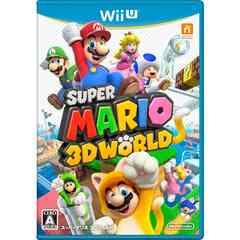 即決☆中古 Wii U スーパーマリオ 3Dワールド 送料無料
