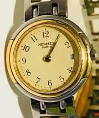 エルメスウィンザーレディース時計クリッパー電池新品稼働品