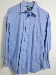 ラルフローレン 水色シャツ