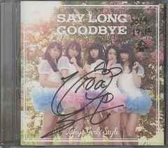 ■[直筆サイン] 新井ひとみ 東京女子流●SEY LONG GOODBYE CD