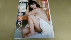 ★平嶋夏海★グラビア雑誌.切抜き・7P。同梱可。