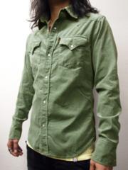ブリューテンブラット コーデュロイシャツ S