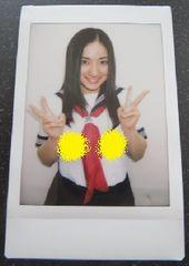 現役女子高校生時代の紗綾ちゃんのセーラー服姿の生チェキ