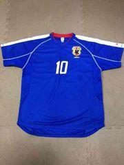 即決☆サッカー日本代表10番中村俊輔ユニホーム☆JFA☆