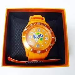 ◆ファンタ★シリコーン★ウォッチ★オレンジ★非売品★腕時計