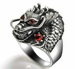 1円〜◆Dragon king charm RING 16号