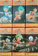 ドラゴンボール超ワールドコレクタブルフィギュア vol.9 全6種