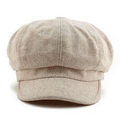 【人気品薄】小顔 フリーサイズ 帽子 レディース キャスケット