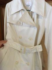 ホワイトベージュのトレンチコート☆着やすく可愛い☆Mサイズ9号