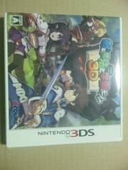 †送料無料3DS専用 剣と魔法と学園モノ。3D