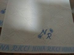 NINA RICCI フェースタオル2枚 新品