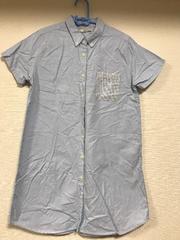 即決☆グラニフのロング丈シャツ