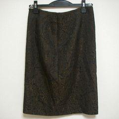anne klein アンクライン 上品 ひざ丈 スカート W60